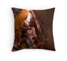 Upper Antelope Slot Throw Pillow