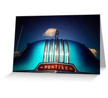 Pontiac  Greeting Card
