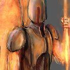 Fiery Protector by Adam Howie