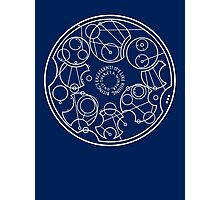 Gallifreyan Biting's Excellent (Light) Photographic Print