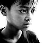 AIDS Orphan in Cambodia by Andrew Gray