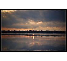 Sunrise Melt Photographic Print