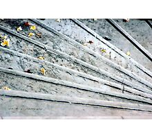 The Marble Steps of Life © Vicki Ferrari Photography Photographic Print