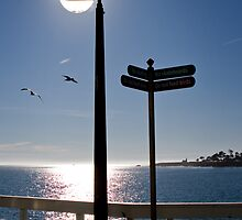 Lamp and Signposts by Jeanne Frasse