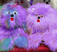 Purple Plush Toys  by Jenny Brice
