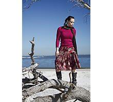 Beach Shoot Photographic Print