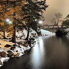 Fenton Banks of the Shiawasee River by Mark Bolen