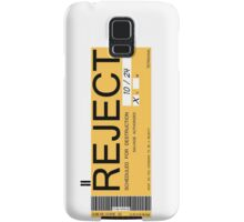 CHAPPIE - Reject Sticker  Samsung Galaxy Case/Skin