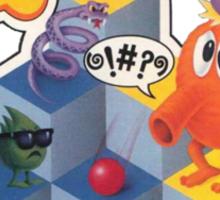 Q*bert Sticker