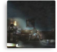 Room 205 Canvas Print