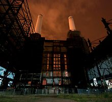 Battersea in the Dead of Night by Jonathan Cooke