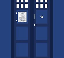 Doctor Who Police Call Box by mateimzzzonked