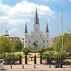 St Louis Cathedral  New Orleans, Louisiana by John Wilchek