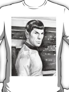 Spock Watercolor T-Shirt