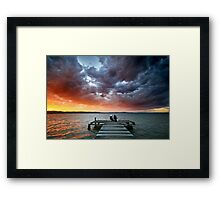 Best Seat in the World Framed Print