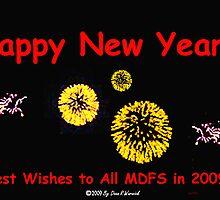 Happy New Year - 2009 by Dean Warwick