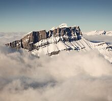 Above the Clouds, French Alps by Joshua McDonough Photography