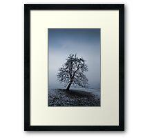moody tree Framed Print