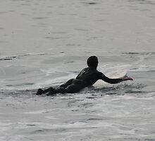 Redondo Beach surfing stance by LeeRoberts