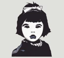 Baby Bjork t-shirt by Angelique Moselle Price