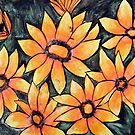 Orange Daisies by Alexandra Felgate