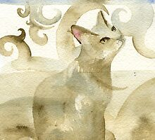 hello Cat by Kelly Jacobi