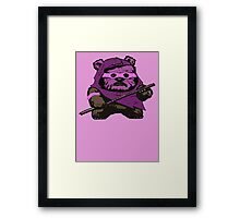 EWOK DONATELLO Framed Print
