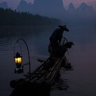 Li River Fisherman by Neville Jones