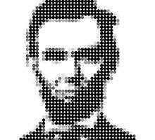 Abraham Lincoln's Dot Portrait by agusshodikin