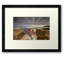 1097A-Wide Open Pacific Beach Framed Print