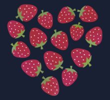 Strawberries and Chocolate Kids Clothes