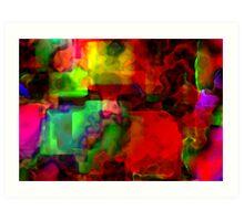 Memory blocks  Art Print