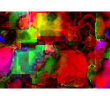 Memory blocks  Photographic Print