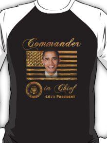 Commander in Chief, President Barack Obama T-Shirt