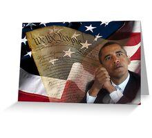 Patriotic America Greeting Card