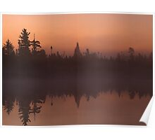Early Morning on Tanker Lake  Poster