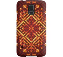 Square Sun - 3 (Warm) Samsung Galaxy Case/Skin