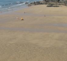 Newquay Beach - Cornwall /England Sticker