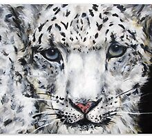 snow leopard by Jo Conlon