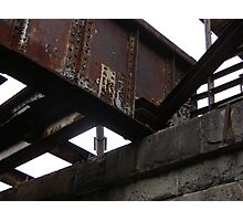 Under the Train  Photographic Print