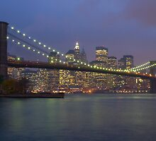 Brooklyn Bridge by AJM Photography