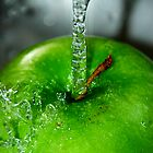 Wet Apple by Lindsay Dean