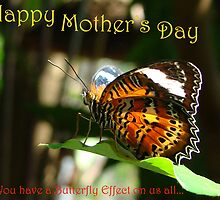 Happy Mother's Day - Butterfly Effect by Sharon Robertson
