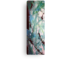 Worth It Abstract Acrylic Painting Canvas Print