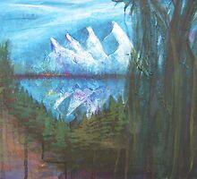 Four Peaks by Kuenstler