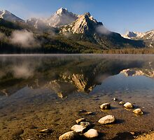 Stanley Lake, Sawtooth NRA by Albert Dickson