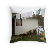 Inside Adera Orphanage Throw Pillow