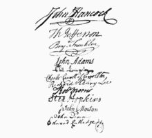 Founders' Signatures by jeastphoto