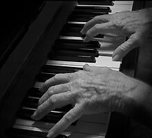 My Mum, the Pianist by GayeL Art