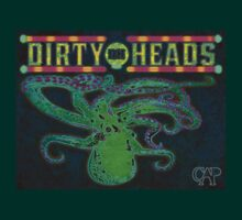 Dirty Heads Octopus #2 Psychedelic Character Original Design by CAP by bluelightning